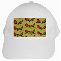 Bird Birds Animal Nature Wild Wildlife White Cap by Jojostore