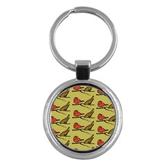 Bird Birds Animal Nature Wild Wildlife Key Chains (round)