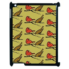 Bird Birds Animal Nature Wild Wildlife Apple Ipad 2 Case (black)
