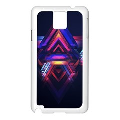 Abstract Desktop Backgrounds Samsung Galaxy Note 3 N9005 Case (white)