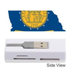 Flag Map Of Georgia, 2001 2003 Memory Card Reader (stick)