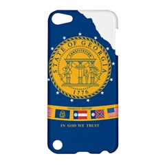 Flag Map Of Georgia, 2001 2003 Apple Ipod Touch 5 Hardshell Case