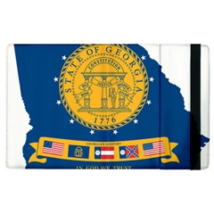 Flag Map Of Georgia, 2001 2003 Apple Ipad 2 Flip Case