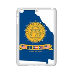 Flag Map Of Georgia, 2001 2003 Ipad Mini 2 Enamel Coated Cases