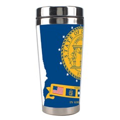 Flag Map Of Georgia, 2001 2003 Stainless Steel Travel Tumblers
