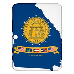 Flag Map Of Georgia, 2001 2003 Samsung Galaxy Tab 3 (10 1 ) P5200 Hardshell Case
