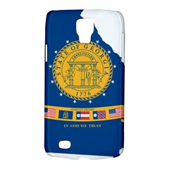 Flag Map Of Georgia, 2001 2003 Samsung Galaxy S4 Active (i9295) Hardshell Case