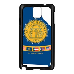 Flag Map Of Georgia, 2001 2003 Samsung Galaxy Note 3 N9005 Case (black)