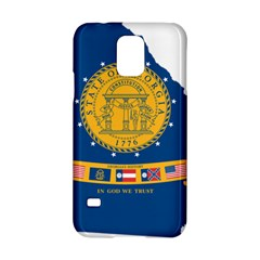Flag Map Of Georgia, 2001 2003 Samsung Galaxy S5 Hardshell Case