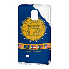 Flag Map Of Georgia, 2001 2003 Samsung Galaxy Note Edge Hardshell Case