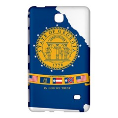 Flag Map Of Georgia, 2001 2003 Samsung Galaxy Tab 4 (8 ) Hardshell Case