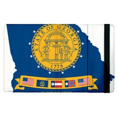 Flag Map Of Georgia, 2001 2003 Apple Ipad Pro 9 7   Flip Case