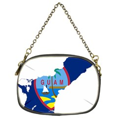 Flag Map Of Guam Chain Purse (one Side) by abbeyz71