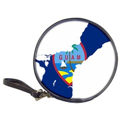 Flag Map Of Guam Classic 20 Cd Wallets