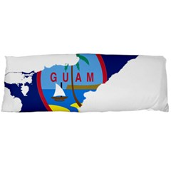 Flag Map Of Guam Body Pillow Case Dakimakura (two Sides) by abbeyz71