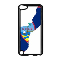 Flag Map Of Guam Apple Ipod Touch 5 Case (black) by abbeyz71