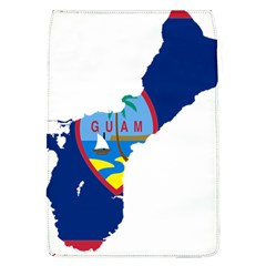 Flag Map Of Guam Removable Flap Cover (l) by abbeyz71