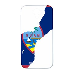 Flag Map Of Guam Samsung Galaxy S4 I9500/i9505  Hardshell Back Case by abbeyz71