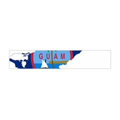 Flag Map Of Guam Flano Scarf (mini)