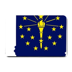 Flag Map Of Indiana Small Doormat