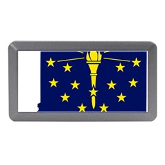 Flag Map Of Indiana Memory Card Reader (mini)
