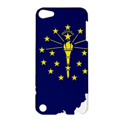 Flag Map Of Indiana Apple Ipod Touch 5 Hardshell Case