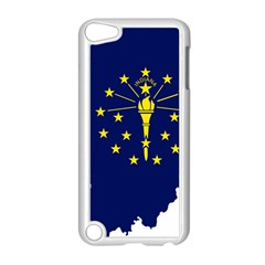 Flag Map Of Indiana Apple Ipod Touch 5 Case (white)