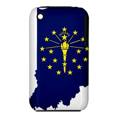 Flag Map Of Indiana Iphone 3s/3gs