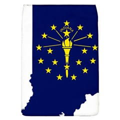 Flag Map Of Indiana Removable Flap Cover (l)