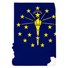 Flag Map Of Indiana Removable Flap Cover (s)