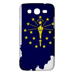 Flag Map Of Indiana Samsung Galaxy Mega 5 8 I9152 Hardshell Case