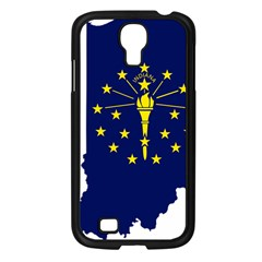 Flag Map Of Indiana Samsung Galaxy S4 I9500/ I9505 Case (black)