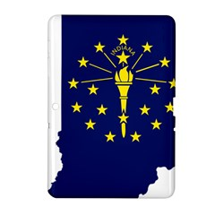Flag Map Of Indiana Samsung Galaxy Tab 2 (10 1 ) P5100 Hardshell Case