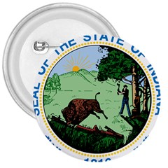 Great Seal Of Indiana 3  Buttons