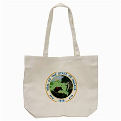 Great Seal Of Indiana Tote Bag (cream)