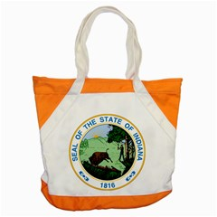 Great Seal Of Indiana Accent Tote Bag