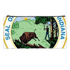 Great Seal Of Indiana Pencil Cases by abbeyz71