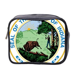Great Seal Of Indiana Mini Toiletries Bag (two Sides)