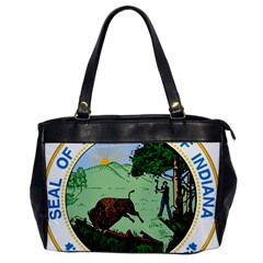 Great Seal Of Indiana Oversize Office Handbag