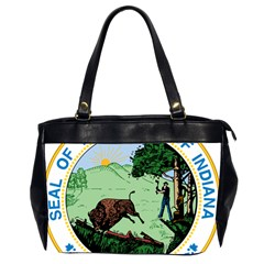 Great Seal Of Indiana Oversize Office Handbag (2 Sides)