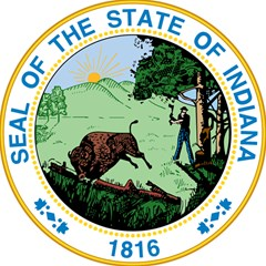 Great Seal Of Indiana Magic Photo Cube
