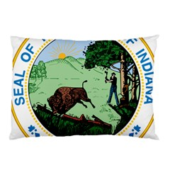 Great Seal Of Indiana Pillow Case (two Sides)