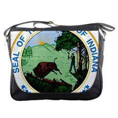 Great Seal Of Indiana Messenger Bag