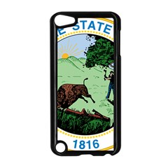 Great Seal Of Indiana Apple Ipod Touch 5 Case (black)