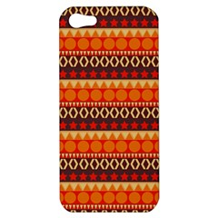Abstract Lines Seamless Art  Pattern Apple Iphone 5 Hardshell Case by Jojostore