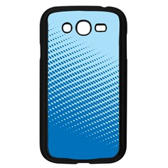 Blue Dot Pattern Samsung Galaxy Grand Duos I9082 Case (black)