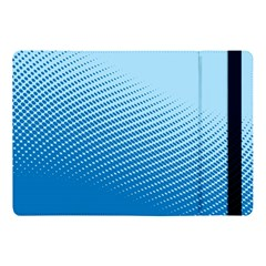Blue Dot Pattern Apple Ipad 9 7 by Jojostore