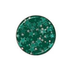 Star Seamless Tile Background Abstract Hat Clip Ball Marker (4 Pack)
