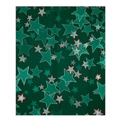 Star Seamless Tile Background Abstract Shower Curtain 60  X 72  (medium)
