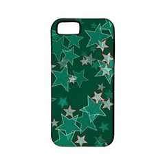 Star Seamless Tile Background Abstract Apple Iphone 5 Classic Hardshell Case (pc+silicone)